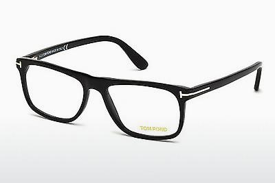 Designerbrillen Tom Ford FT5303 002 - Schwarz, Matt