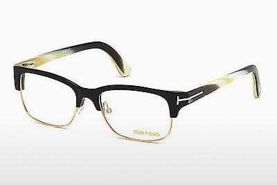 Occhiali design Tom Ford FT5307 001 - Nero, Shiny
