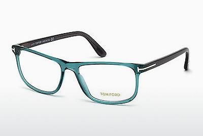 Occhiali design Tom Ford FT5356 087 - Blu, Turquoise, Shiny