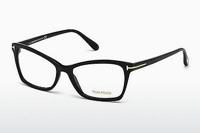 Occhiali design Tom Ford FT5357 001 - Nero, Shiny