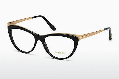 Occhiali design Tom Ford FT5373 001 - Nero, Shiny