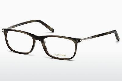 Occhiali design Tom Ford FT5398 061 - Verde, Horn