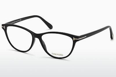 Occhiali design Tom Ford FT5402 001 - Nero, Shiny