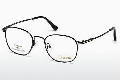 Lunettes design Tom Ford FT5417 001 - Noires, Shiny