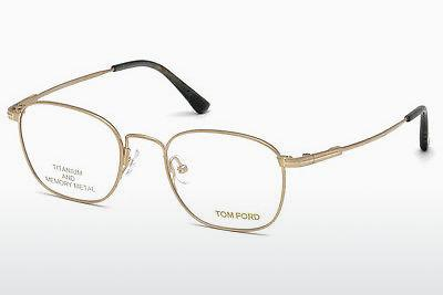 Lunettes design Tom Ford FT5417 028 - Or