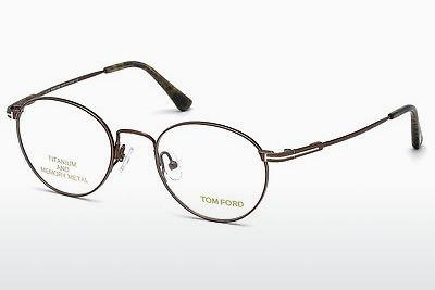 Lunettes design Tom Ford FT5418 048 - Brunes, Dark, Shiny