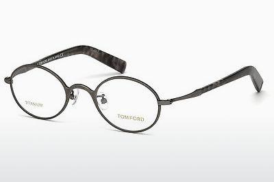 Lunettes design Tom Ford FT5419 008 - Grises, Shiny