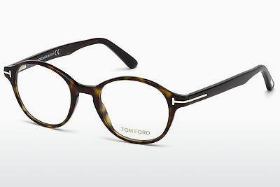 Lunettes design Tom Ford FT5428 052 - Brunes, Dark, Havana