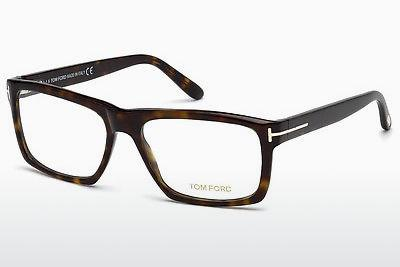 Lunettes design Tom Ford FT5434 052 - Brunes, Dark, Havana