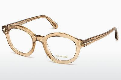 Occhiali design Tom Ford FT5460 045 - Marrone, Bright, Shiny