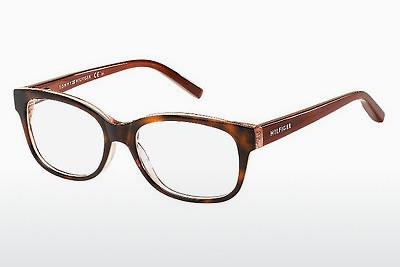 Occhiali design Tommy Hilfiger TH 1017 MNY - Marrone, Avana