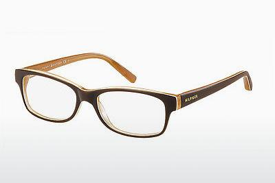 Occhiali design Tommy Hilfiger TH 1018 GYB - Arancione, Marrone