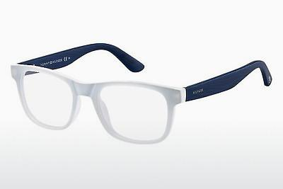 Lunettes design Tommy Hilfiger TH 1314 LWA - Blanches, Bleues