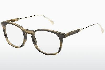 Occhiali design Tommy Hilfiger TH 1384 QET - Giallo, Horn