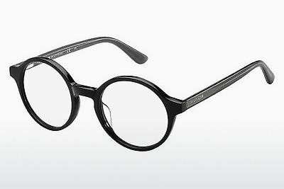 Lunettes design Tommy Hilfiger TH 1390 QTJ - Blackgrey