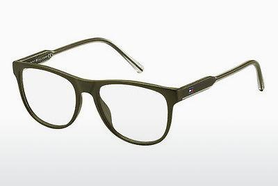 Lunettes design Tommy Hilfiger TH 1441 EEM - Brunes, Vertes