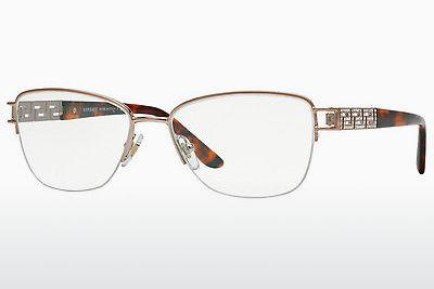 Lunettes design Versace VE1220B 1052 - Brunes, Copper