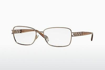 Lunettes design Versace VE1229B 1052 - Brunes, Copper