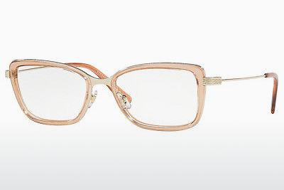 Lunettes design Versace VE1243 1401 - Or, Brunes, Transparentes