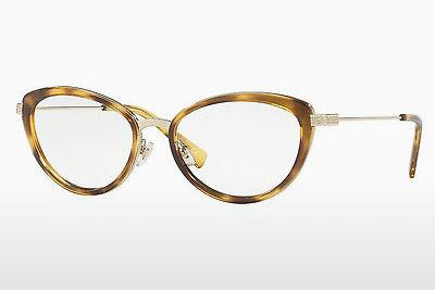 Lunettes design Versace VE1244 1400 - Or, Brunes, Havanna