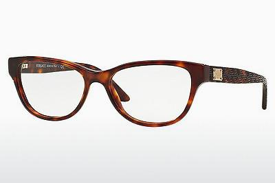 Occhiali design Versace VE3204 879 - Marrone, Avana