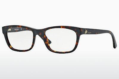 Lunettes design Vogue VO2767 W656 - Brunes, Havanna