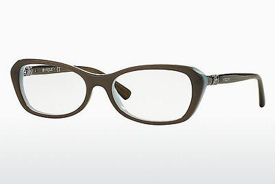 Lunettes design Vogue VO2960B 2322 - Brunes, Mud