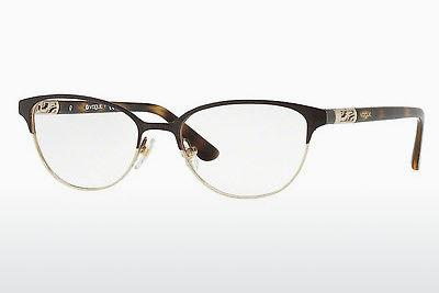 Lunettes design Vogue VO4066 997 - Brunes, Or