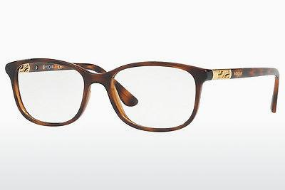 Lunettes design Vogue VO5163 2386 - Brunes, Havanna