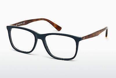Occhiali design Web Eyewear WE5180 091 - Blu, Matt