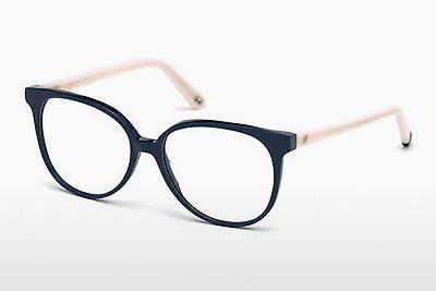 Occhiali design Web Eyewear WE5199 090 - Blu, Shiny