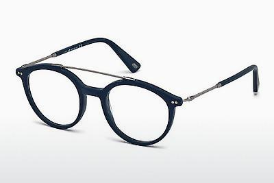 Occhiali design Web Eyewear WE5204 091 - Blu, Matt