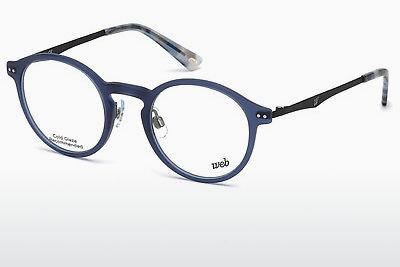 Occhiali design Web Eyewear WE5207 085 - Blu, Matt