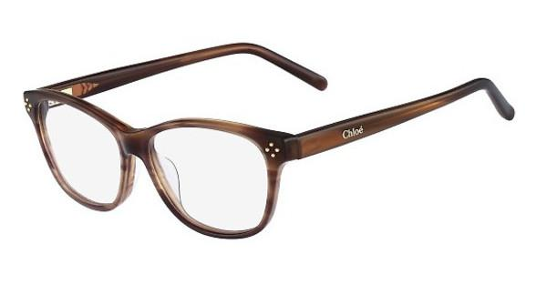 Chloé CE2633 282 STRIPED BROWN