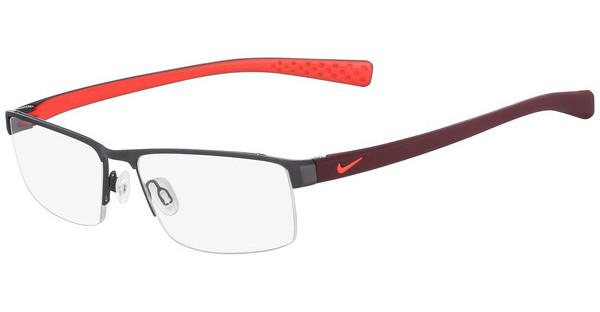 Nike NIKE 8097 070 SATIN GUNMETAL-TEAM RED