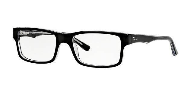 Ray-Ban RX5245 2034 TOP BLACK ON TRANSPARENT