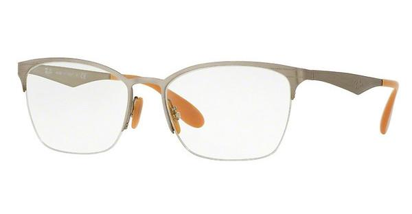 Ray-Ban RX6345 2595 SILVER BRUSHED