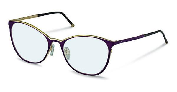 Rodenstock R2568 B dark viola, light gold