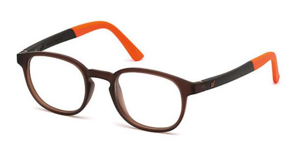 Web Eyewear WE5185 049 braun dunkel matt