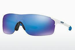 Lunettes de soleil Oakley Evzero Pitch (OO9383 938302) - Blanches