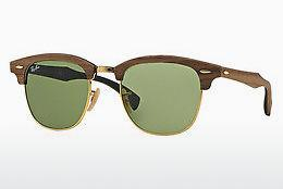 Sonnenbrille Ray-Ban CLUBMASTER (M) (RB3016M 11824E) - Braun