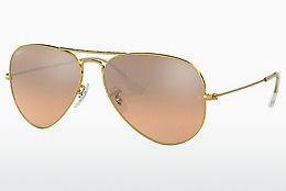 Sonnenbrille Ray-Ban AVIATOR LARGE METAL (RB3025 001/3E) - Gold