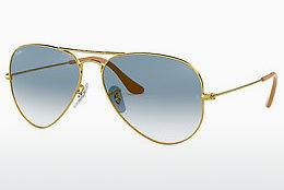 Lunettes de soleil Ray-Ban AVIATOR LARGE METAL (RB3025 001/3F) - Or