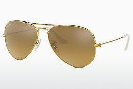 Sonnenbrille Ray-Ban AVIATOR LARGE METAL (RB3025 001/3K) - Gold
