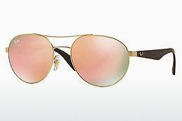 Lunettes de soleil Ray-Ban RB3536 112/2Y - Or