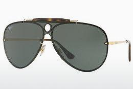 Sonnenbrille Ray-Ban Blaze Shooter (RB3581N 001/71) - Gold