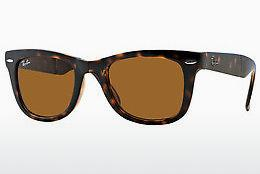 Occhiali da vista Ray-Ban FOLDING WAYFARER (RB4105 710) - Marrone, Avana