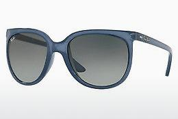 Sonnenbrille Ray-Ban CATS 1000 (RB4126 630371) - Transparent, Blau