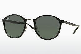 Sonnenbrille Ray-Ban Round Ii Light Ray (RB4242 601/71) - Schwarz