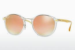 Sonnenbrille Ray-Ban Round Ii Light Ray (RB4242 6288B9) - Transparent